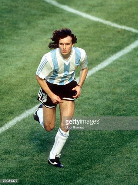 World Cup Finals Milan Italy 8th June Argentina 0 v Cameroon 1 Argentina's Eduardo Balbo