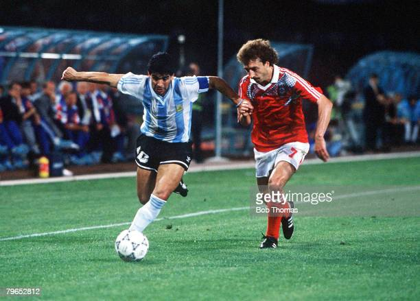 Argentina Ussr 1990 Stock Photos and Pictures | Getty Images