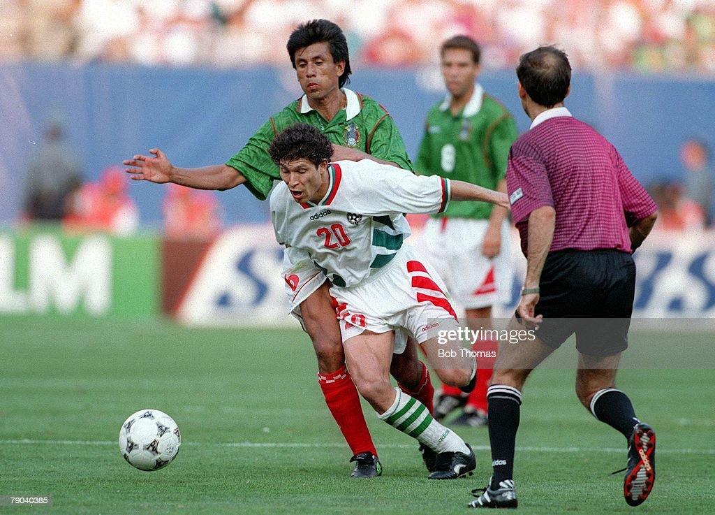 Resultado de imagen para bulgaria mexico 1994