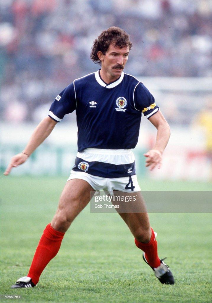 World Cup Finals, Neza, Mexico, 4th June, 1986, Denmark 1 v Scotland 0, Scotland's Graeme Souness
