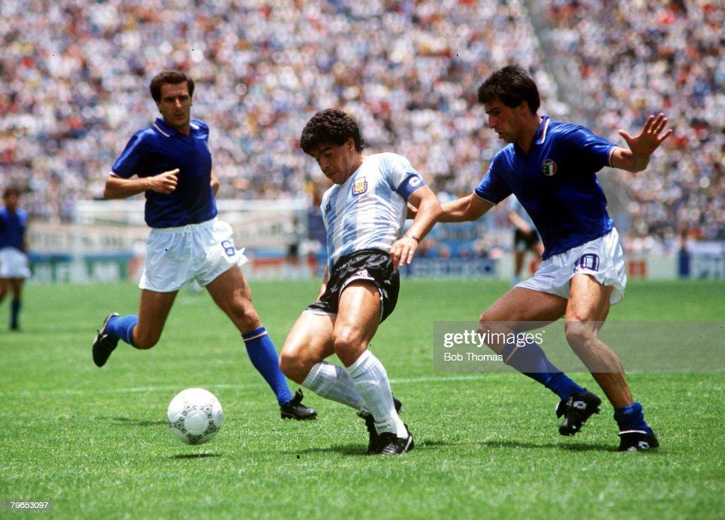 1986 World Cup Finals, Puebla, Mexico, 5th June, 1986, Italy 1 v ...