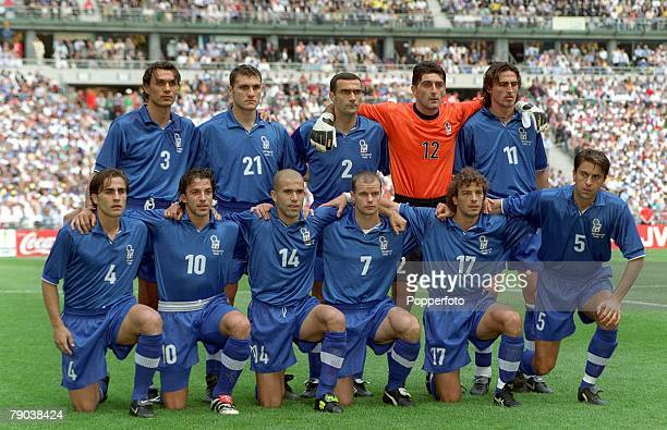 World Cup Finals, Quarter Final, Paris, France, France 0 v Italy 0 , 3rd July Italy team group