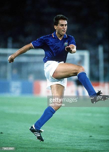 World Cup Finals Rome Italy 9th June Italy 1 v Austria 0 Italy's Riccardo Ferri