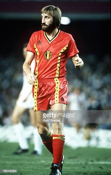 World Cup Finals Second Phase Barcelona Spain 1st July USSR 1 v Belgium 0 Belgium's Luc Millecamps