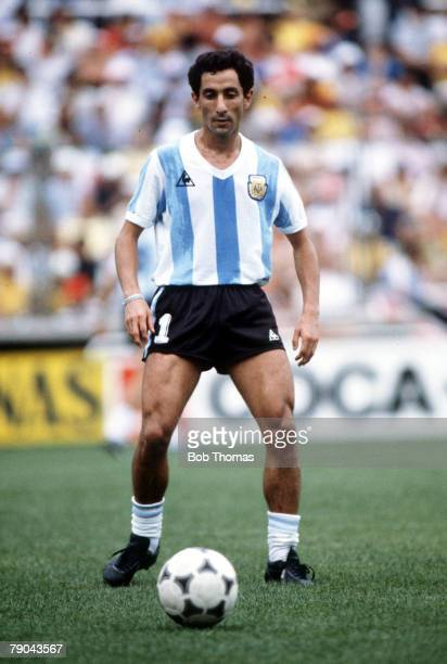 World Cup Finals Second Phase Barcelona Spain 2nd July Brazil 3 v Argentina 1 Argentina's Osvaldo Ardiles