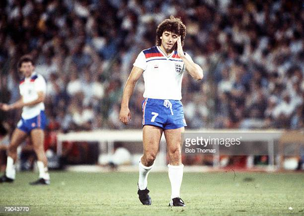 World Cup Finals Second Phase Madrid Spain 5th July England 0 v Spain 0 England's Kevin Keegan looks dejected during the match