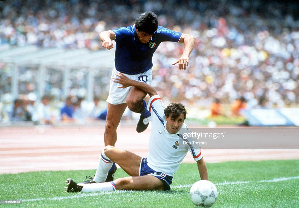 1986 World Cup Finals, Second Phase, Mexico City, Mexico, 17th June ...