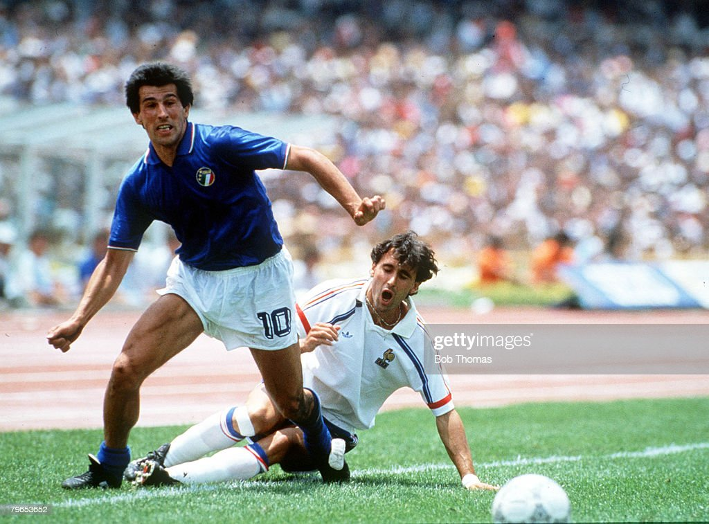 1986 World Cup Finals, Second Phase, Mexico City, Mexico, 17th ...