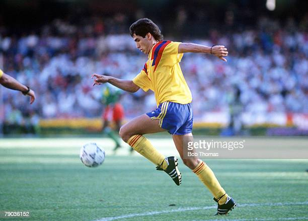 World Cup Finals Second Phase Naples Italy 23rd June Cameroon 2 v Colombia 1 Colombia's Andres Escobar