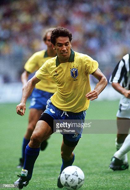 World Cup Finals Turin Italy 16th June Brazil 1 v Costa Rica 0 Brazil's Careca