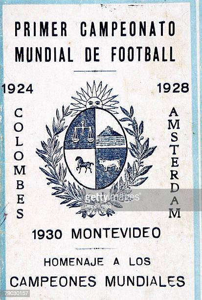 World Cup Finals Uruguay A souvenir booklet to mark Uruguay's World Football Championships in 1924 1928 and 1930