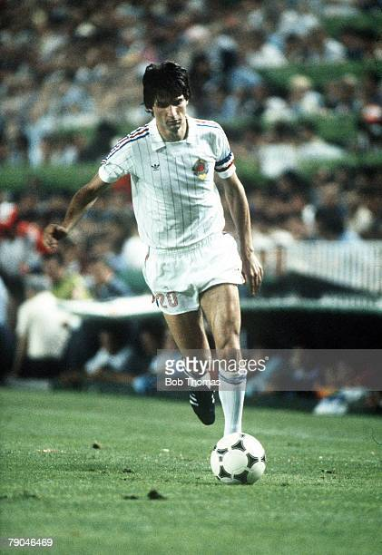 World Cup Finals Valencia Spain 20th June Spain 2 v Yugoslavia 1 Yugoslavia's Ivan Surjak