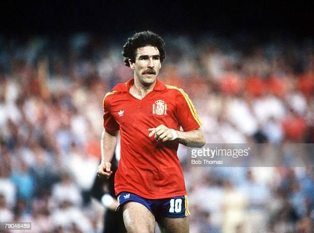World Cup Finals Valencia Spain 20th June Spain 2 v Yugoslavia 1 Spain's Jesus Zamora
