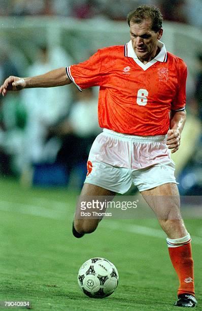 World Cup Finals Washington USA 20th June 1994 Holland 2 v Saudi Arabia 1Holland's Jan Wouters