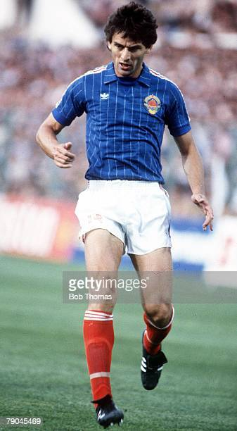 World Cup Finals Zaragoza Spain 17th June Yugoslavia 0 v NIreland 0 Yugoslavia's Nicola Jovanovic