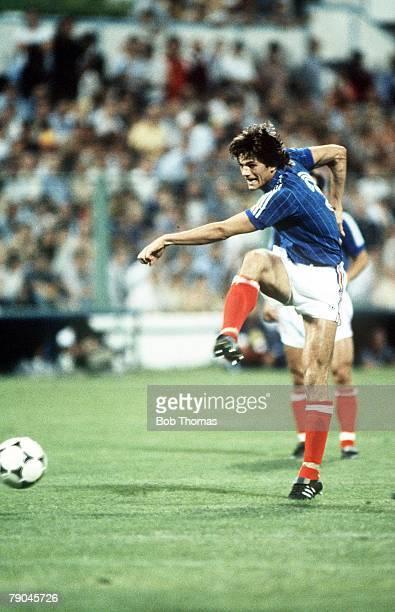 World Cup Finals Zaragoza Spain 17th June Yugoslavia 0 v NIreland 0 Yugoslavia's Ivan Gudelj