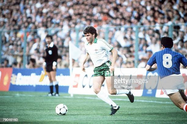 World Cup Finals Zaragoza Spain 17th June Yugoslavia 0 v NIreland 0 Northern Ireland's Mal Donaghy
