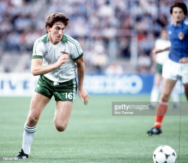 World Cup Finals Zaragoza Spain 17th June Yugoslavia 0 v NIreland 0 Northern Ireland's Norman Whiteside