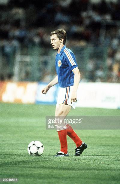 World Cup Finals Zaragoza Spain 17th June Yugoslavia 0 v NIreland 0 Yugoslavia's Vladimir Petrovic