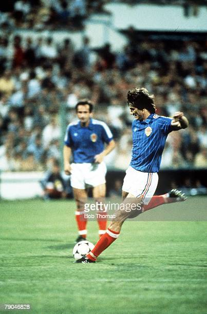 World Cup Finals Zaragoza Spain 17th June Yugoslavia 0 v NIreland 0 Yugoslavia's Ivan Gudelj