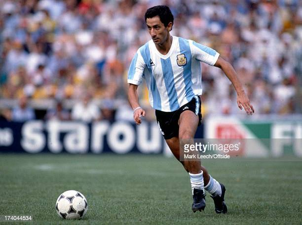 World Cup Football Brazil v Argentina Ossie Ardiles
