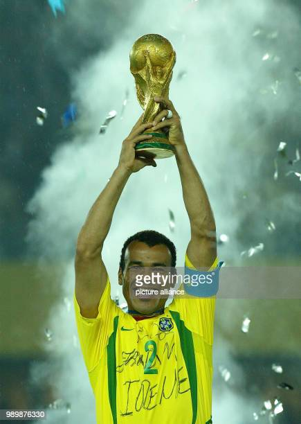 World Cup held in South Korea and Japan finale on June 30th 2002 Germany vs Brazil 02 Cheering Brazil won the World Cup