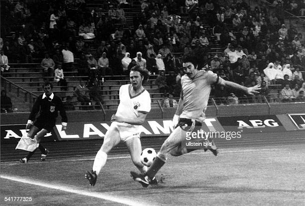 1974 FIFA World Cup in Germany Gerd Kische * Football player East Germany Gerd Kische and Ayala in a 2nd round match between East Germany and...
