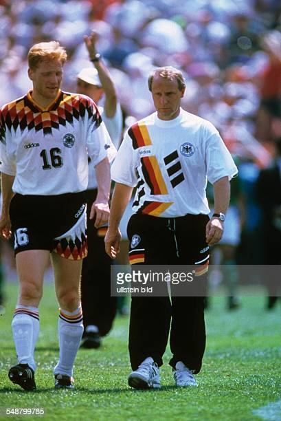 1994 FIFA World Cup in the USA Berti Vogts * Coach of the German team former Germany national player Germany coach Berti Vogts and player Matthias...