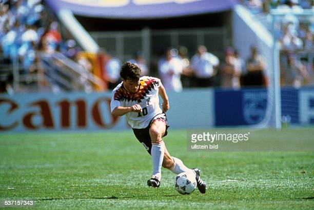 1994 FIFA World Cup in the USA Lothar Matthaeus * Football player Germany member of the national team Lothar Matthaeus in action during a World Cup...