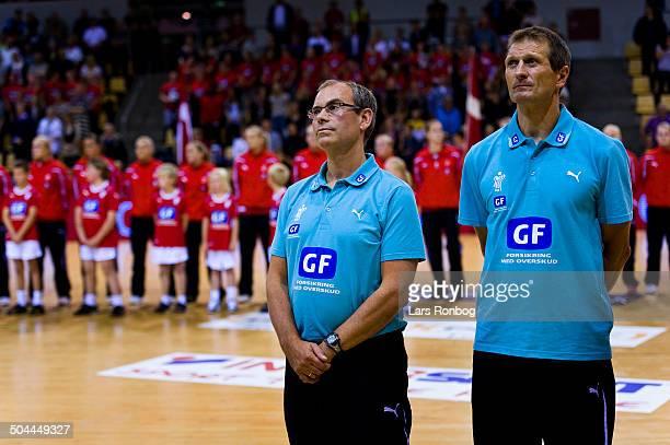 World Cup - Landstræner / Teamcoach Jan Pytlick, Danmark / Denmark - Assistenttræner / Assistantcoach Kim Jensen, Danmark / Denmark. © Lars Rønbøg /...