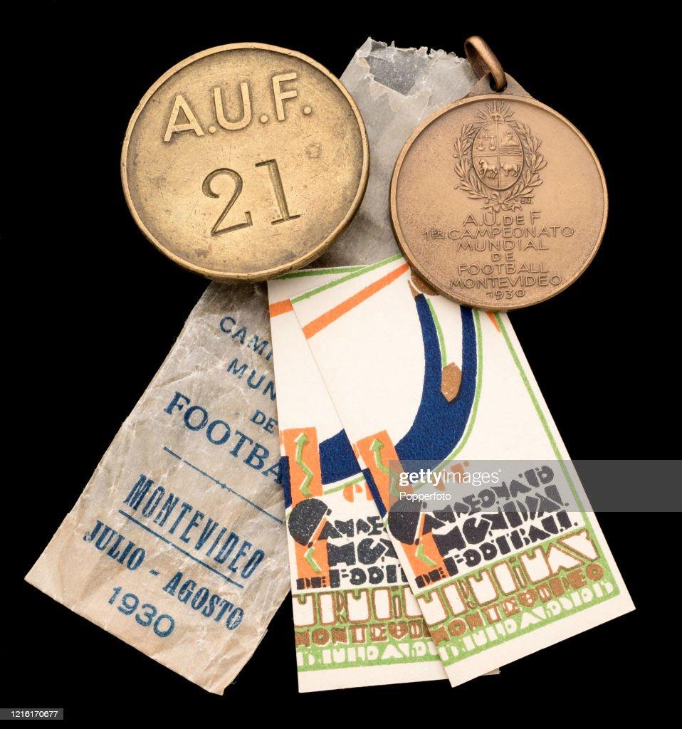 1930 FIFA World Cup Memorabilia : News Photo