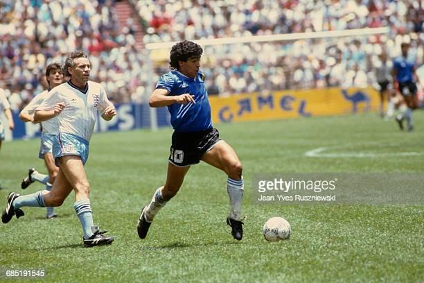 World Cup quarter finals. Argentina vs England . Diego Maradona .