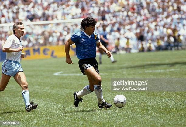 World Cup QuartersFinals Argentina vs England Diego Maradona