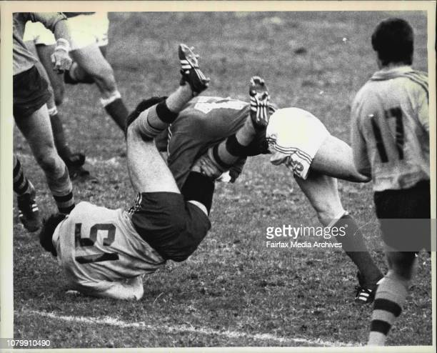 World Cup RugbyAustralia V France June 13 1987
