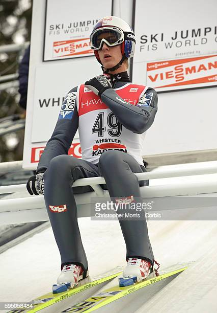 FIS World Cup Ski Jumping at Whistler Olympic Park in Whistler British Columbia The site will be hosting the Olympic nordic events during the 2010...