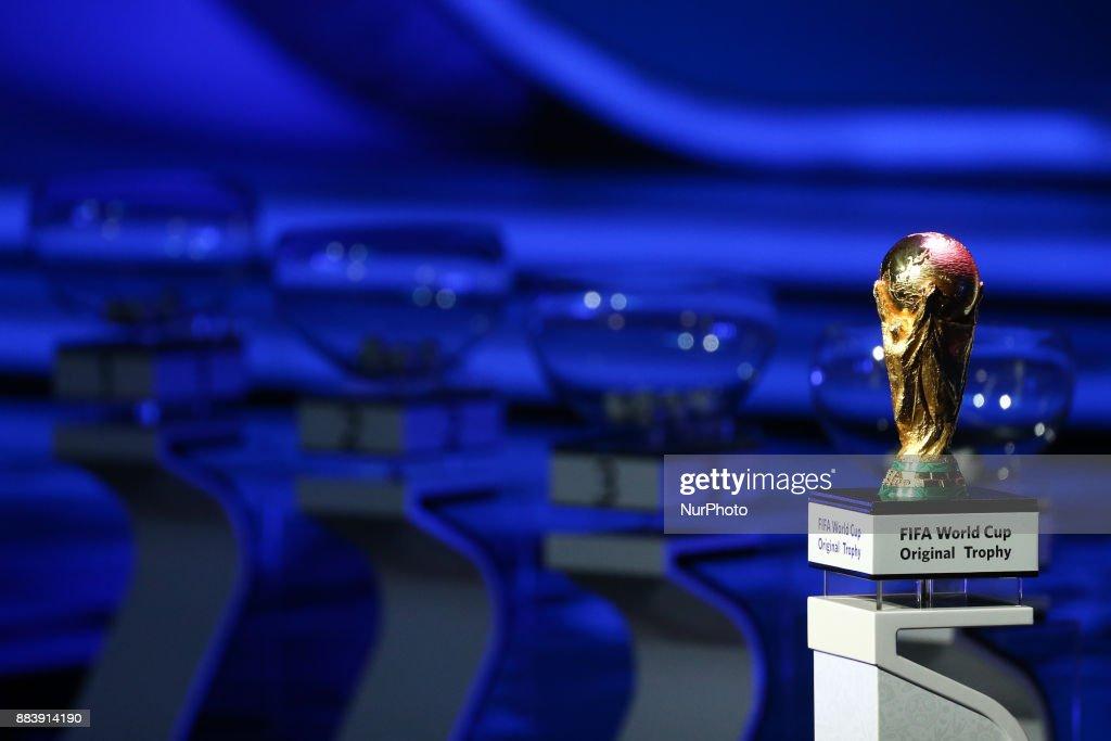 Final Draw for the 2018 FIFA World Cup Russia : Fotografía de noticias