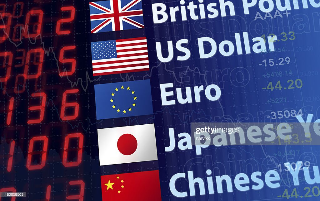 World Currency Rates : Stock Photo