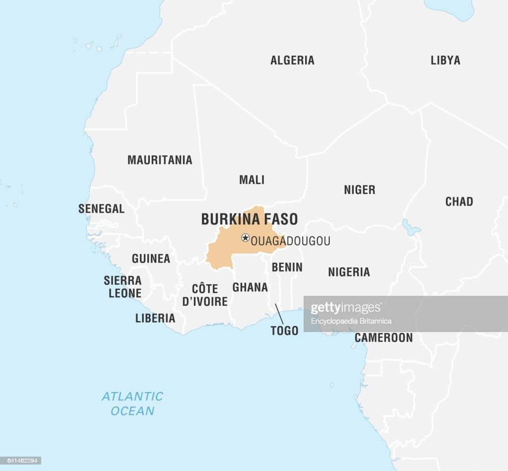 Physical Map Of Burkina Faso evernote agenda