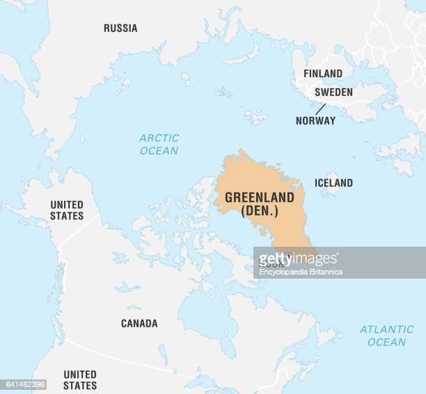 Greenland on world map stock photos and pictures getty images world data locator map greenland gumiabroncs Choice Image