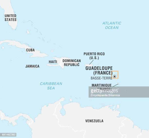 World Data Locator Map Guadeloupe