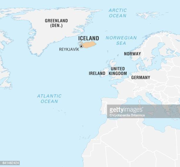 Iceland On World Map Stock Photos and Pictures | Getty Images