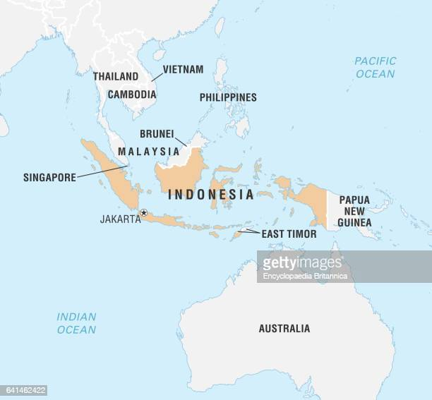 World Data Locator Map Indonesia