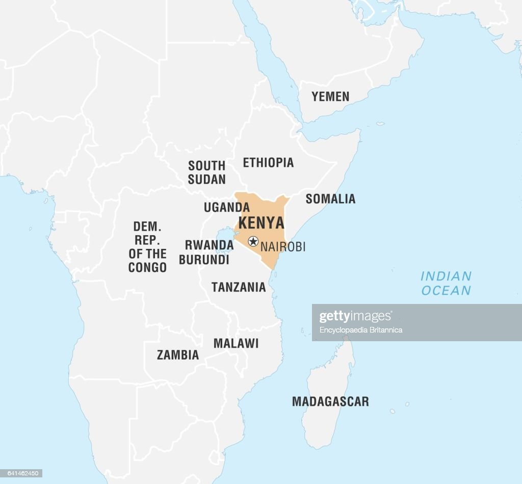Map world kenya world data locator map kenya pictures getty images gumiabroncs Image collections