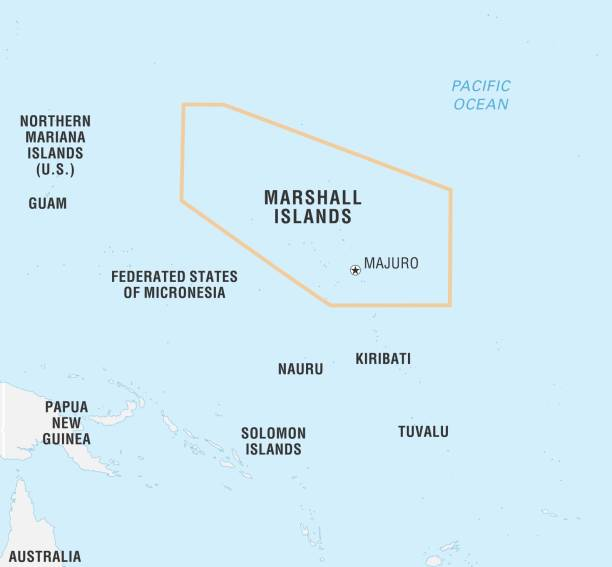 World Data Locator Map, Marshall Islands Pictures   Getty Images