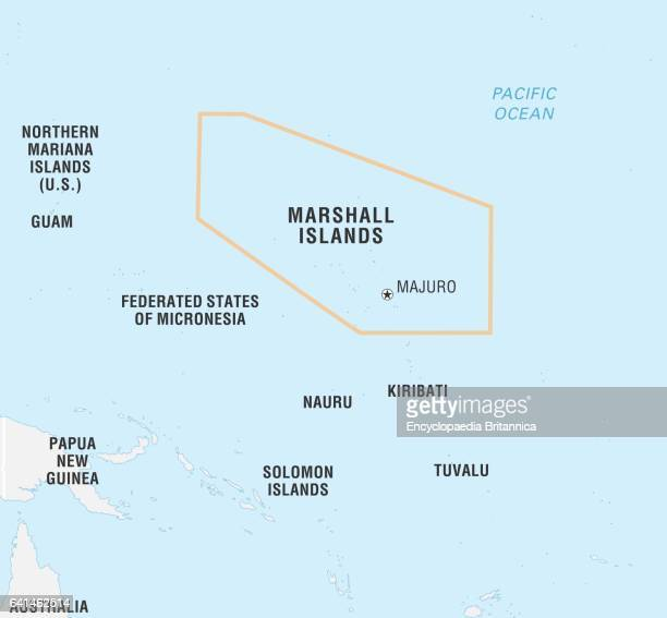 World Data Locator Map Marshall Islands