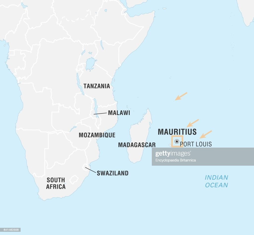 Mauritius Map Stock Photos and Pictures Getty Images