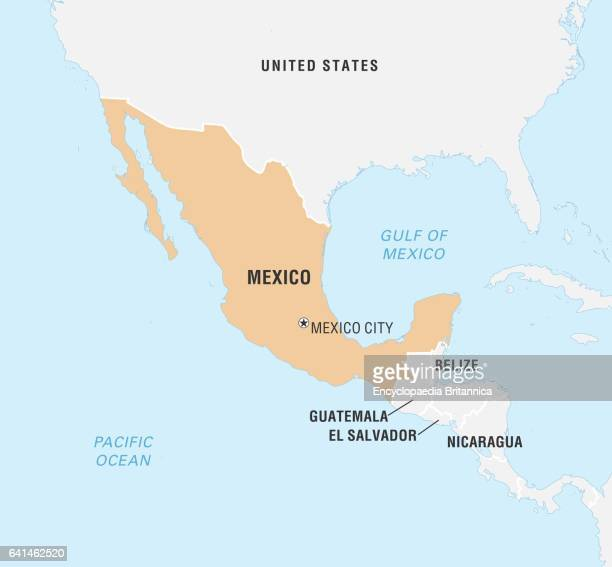 World Data Locator Map Mexico