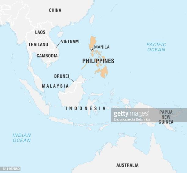 World\'s Best Philippines Map Stock Pictures, Photos, and ...