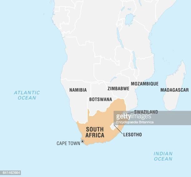 World Data Locator Map South Africa