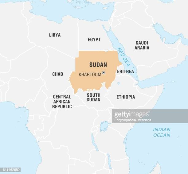 Sudan Map Stock Photos and Pictures |